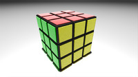 3d blend rubik s cube