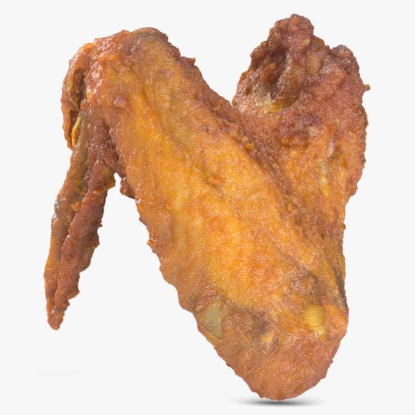 crispy chicken wing 3d 3ds