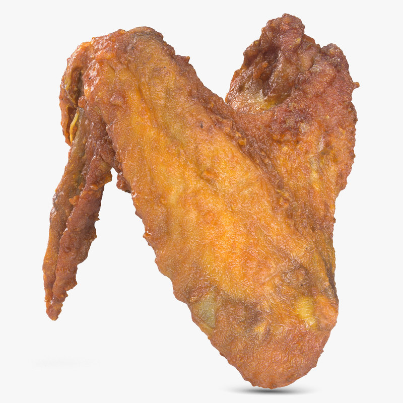 crispy chicken wing 3d 3ds