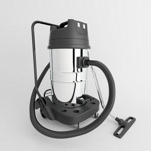 vacuum cleaner industrial 3d model