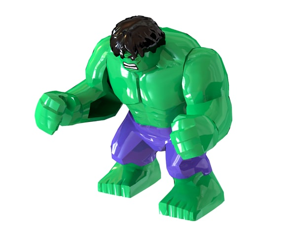 3d incredible hulk