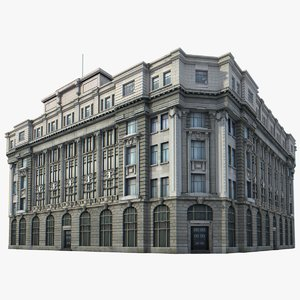 china building 3d model