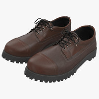 Man Shoes 3 3D Model