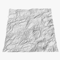 Crumpled Foil Displacement map