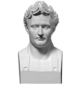 free scan bust napoleon 3d model