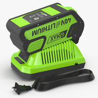 Leaf Blower Charger Battery DigiPro G-MAX 40V GreenWorks
