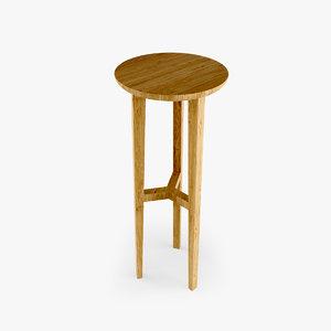 wooden bar stool max
