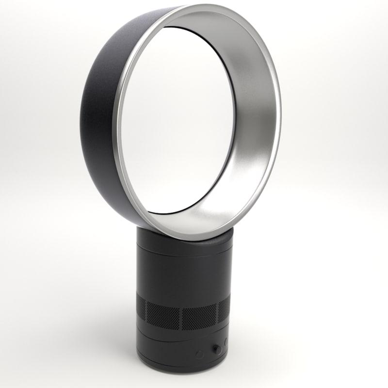 3d model dyson fan