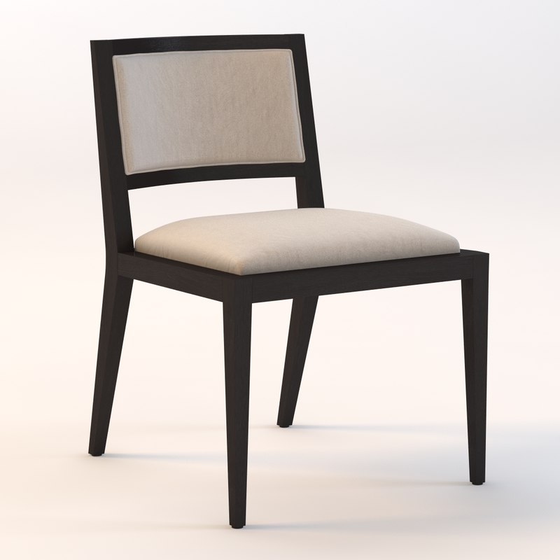 3ds max domicile upholstered chair