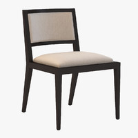 Domicile Upholstered Back Side Chair #60010