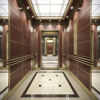3dsmax elevator hall