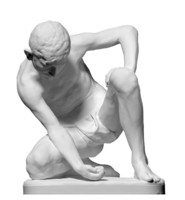 Statue of The Marble Player