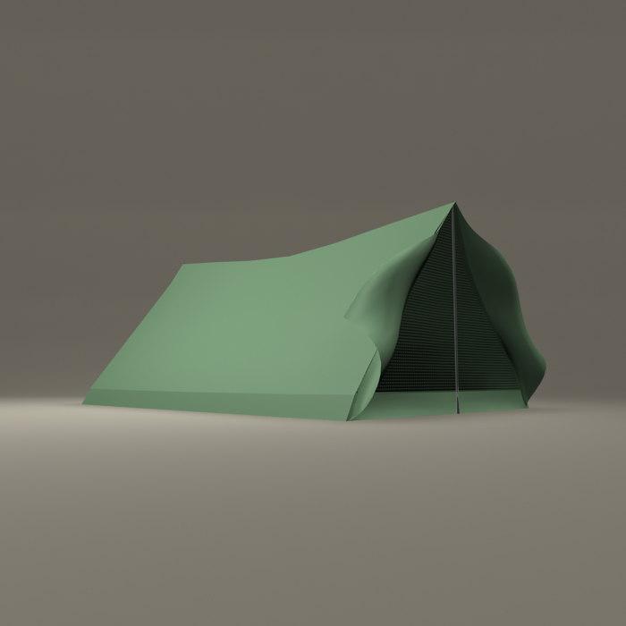 3d tent camping