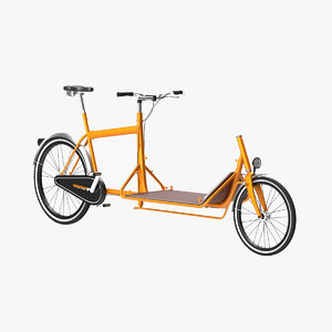 3d model transport bicycle