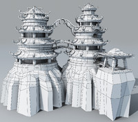 3d ready fantasy towers