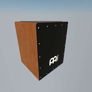 3d percussion instrument model