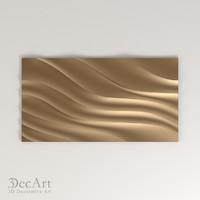 Wall 3D panel 3D model | Pn_001