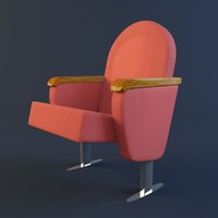 3d model chair arena