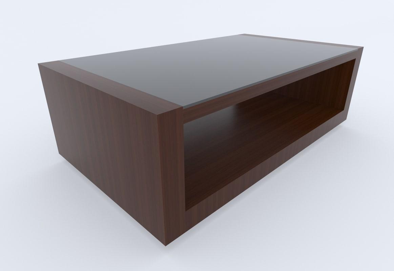 free coffee table 3d model. Black Bedroom Furniture Sets. Home Design Ideas