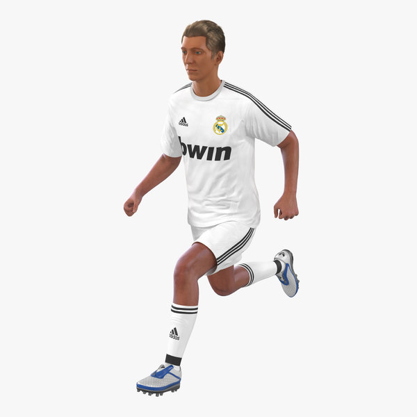 3d soccer player real madrid