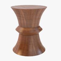 realistic wood obj
