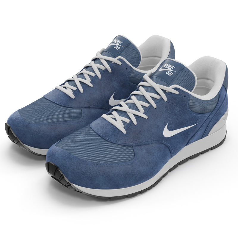 3d model sneakers nike