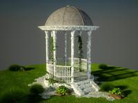 3d garden gazebo