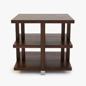 3d model atelier lamp table