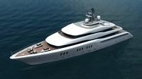 3d model of yacht