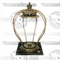 3d model vintage music box