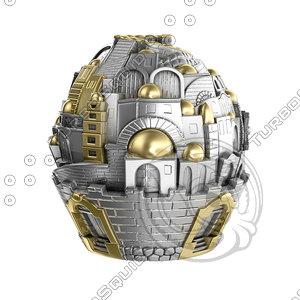 jerusalem ball 3d fbx