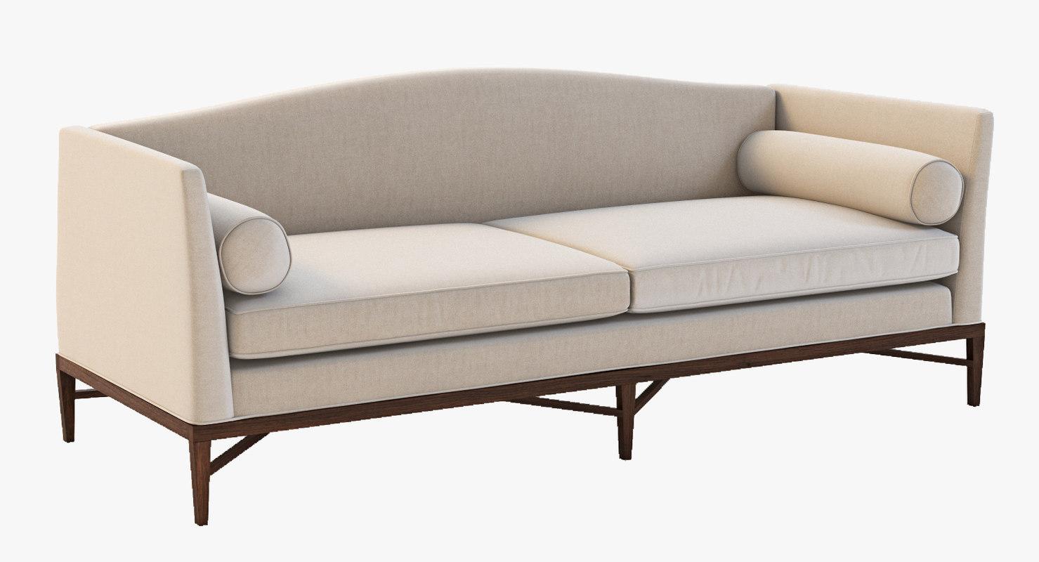 3d bolier rosenau sofa model
