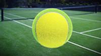tennis ball 3d c4d