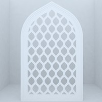 mosques historic buildings 3d max