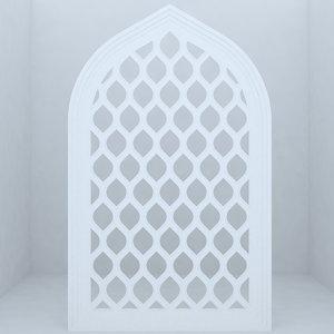 mosques historic buildings 3d max