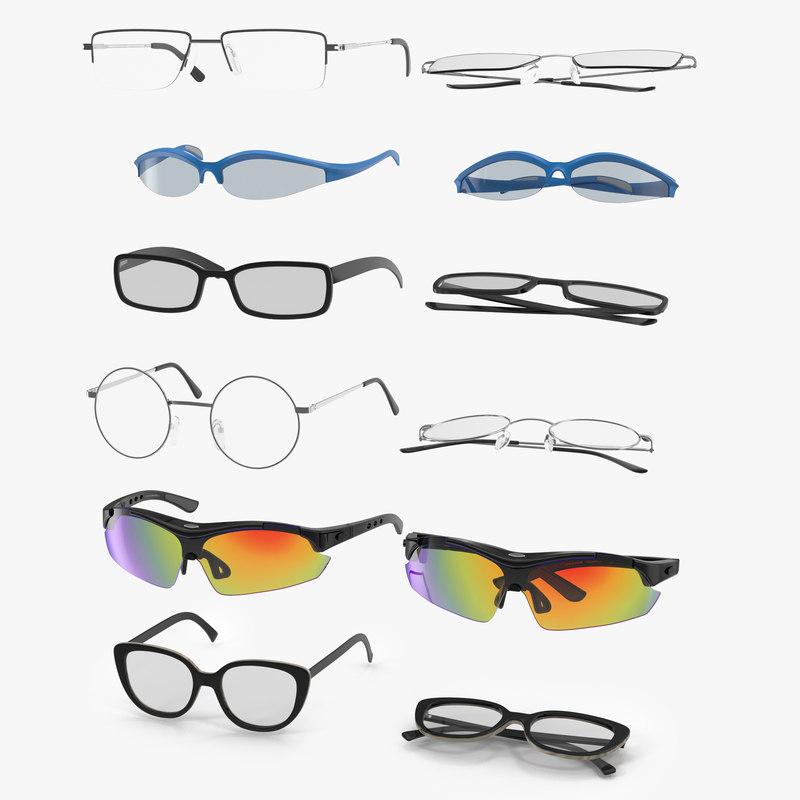 glasses 2 c4d