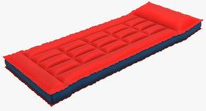 3d model air mattress