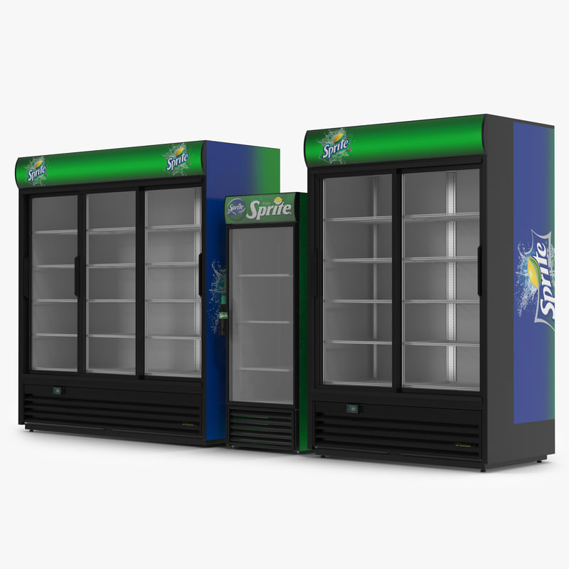 3d sprite refrigerators model