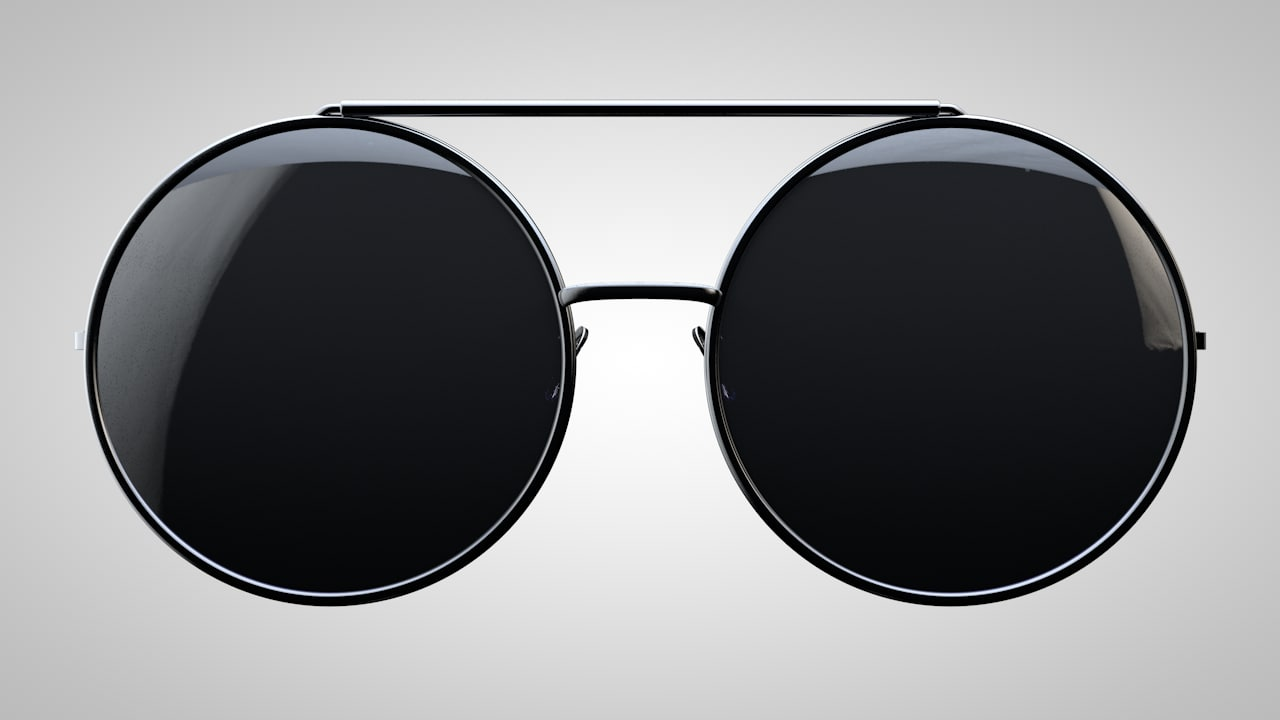 glasses sunglasses sun c4d