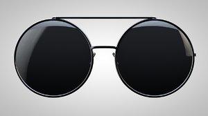 glasses sunglasses sun c4d