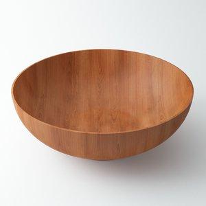 wood bowl max