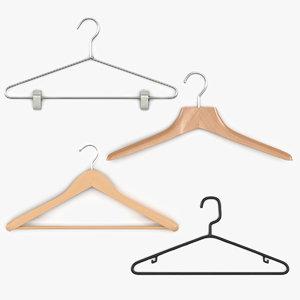 3dsmax clothes hangers