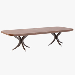 3ds max rosenau dining table