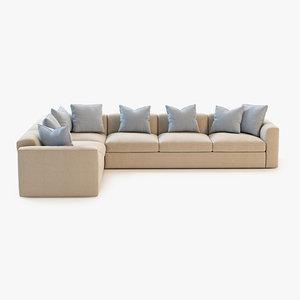 realistic cushion 3d max