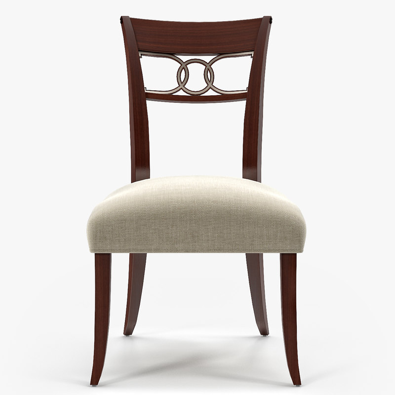 3d baker cleo dining chair model