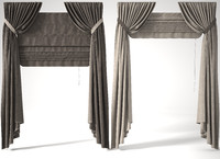 Roman blinds 2 positions