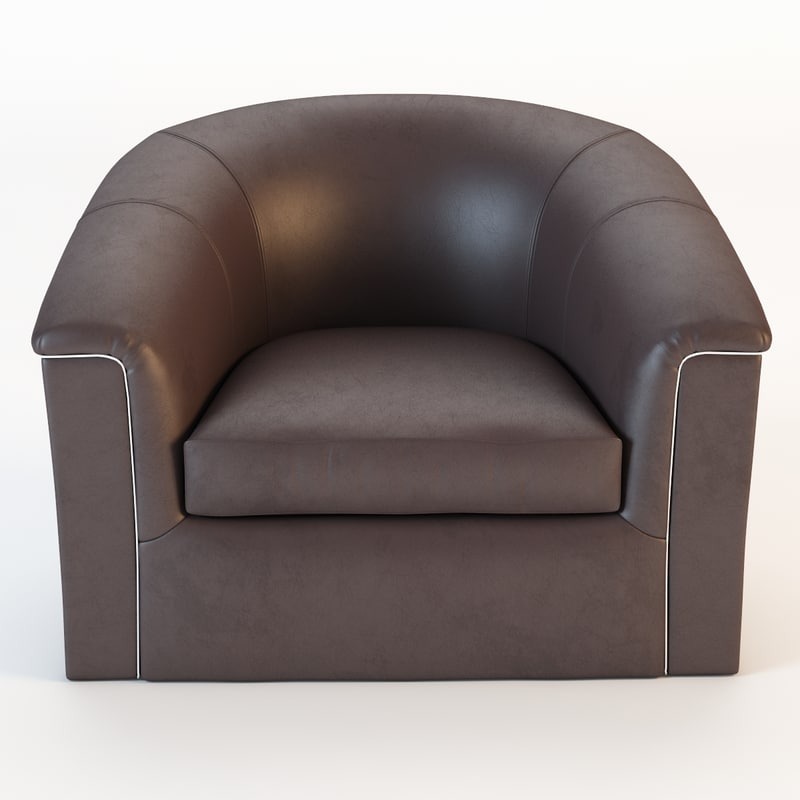 ricardo lounge chair 3d model