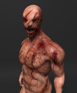 3ds max rigged monster