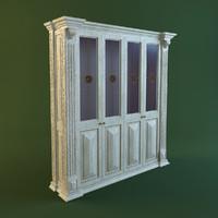 max glass cabinet 4 doors