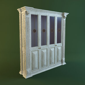 max glass cabinet 4 doors